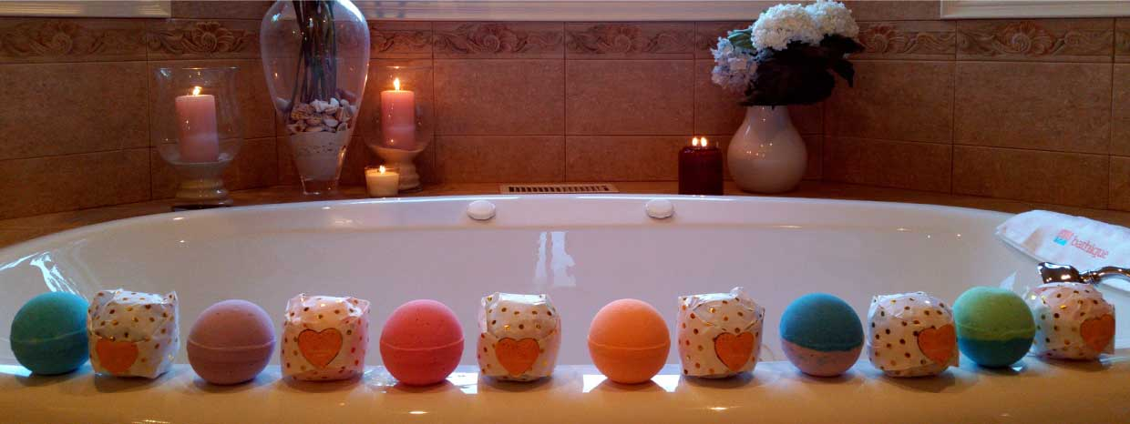 Beautiful bathique Bath Bombs